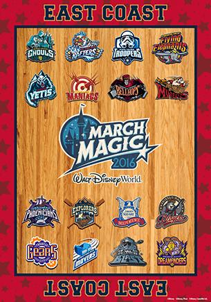 March Magic 2016 West Coast Teams