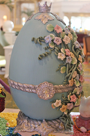 Flowered Easter Egg at Disney's Grand Foridian Resort & Spa at Walt Disney World