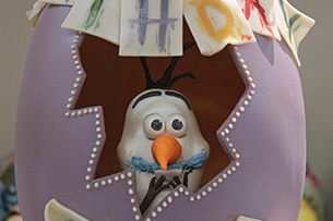 Olaf Easter Egg at Disney's Contemporary Resort at Walt Disney World