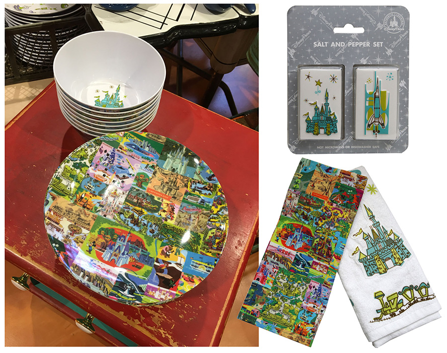 Plate and Bowl Set at Magic Kingdom Park at Walt Disney World and Disneyland Park
