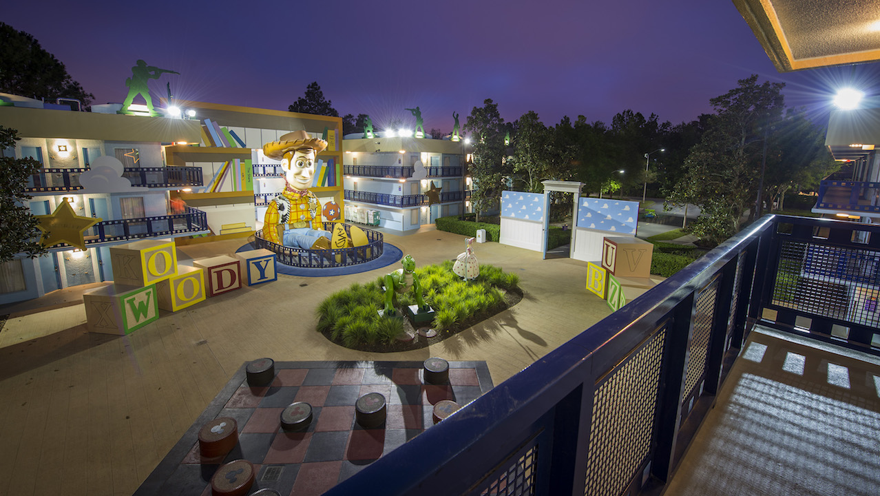 Room With A View Disney S All Star Movies Resort Disney