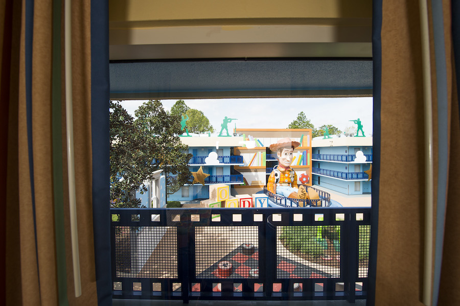 Room With A View: Disney's All-Star Movies Resort