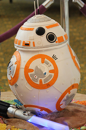 Star Wars Easter Egg at Disney's Grand Foridian Resort & Spa at Walt Disney World