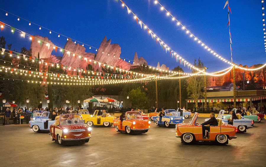 Luigi's Rollickin' Roadsters' at Disney California Adventure Park
