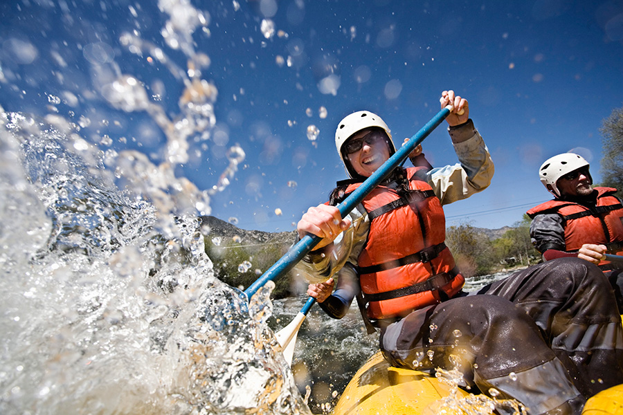 Enjoy white water rafting in Montana with Adventures by Disney