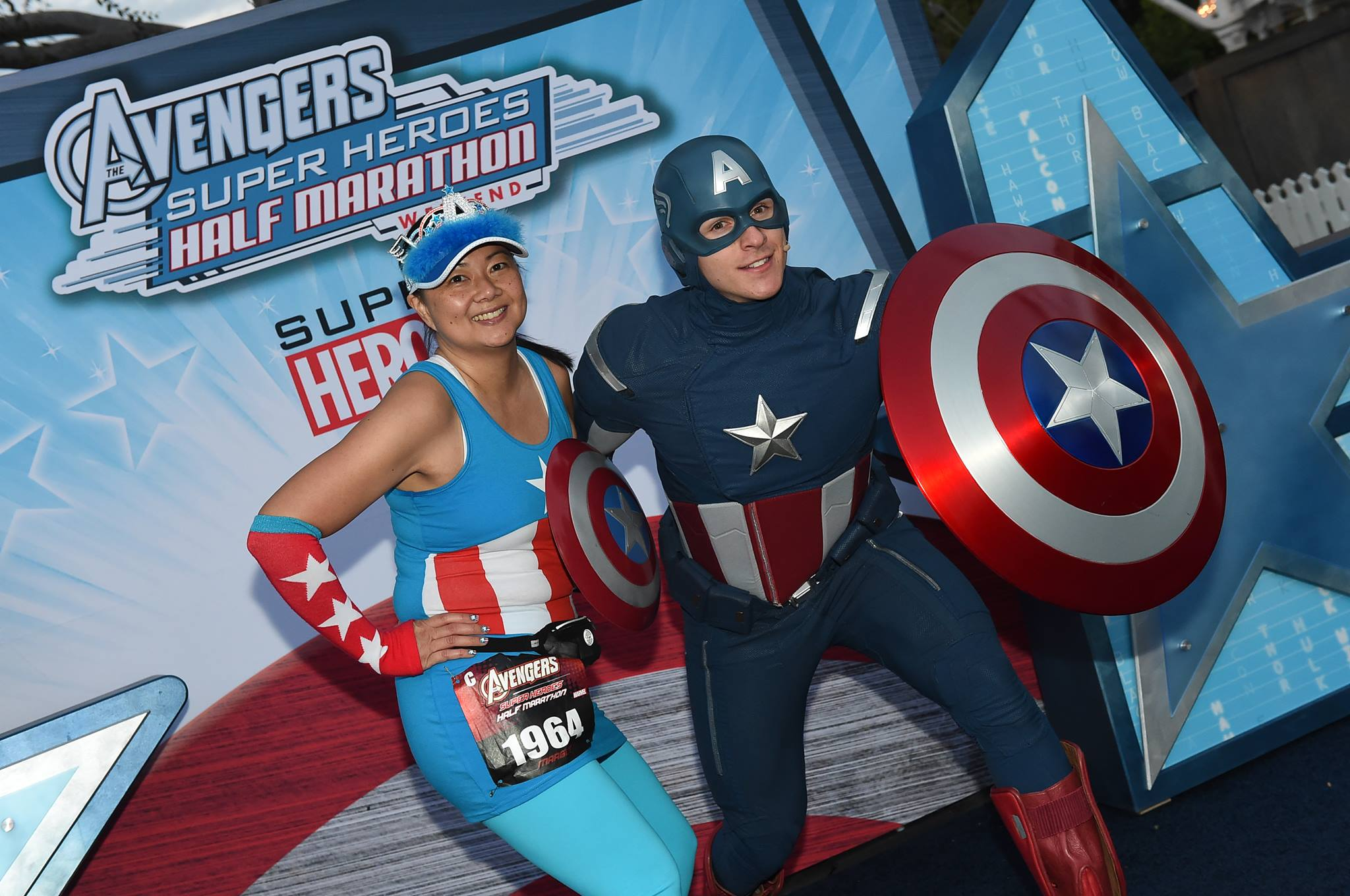 Avengers Join Forces with More Heroes for the runDisney Super Heroes Half Marathon Weekend at the Disneyland Resort