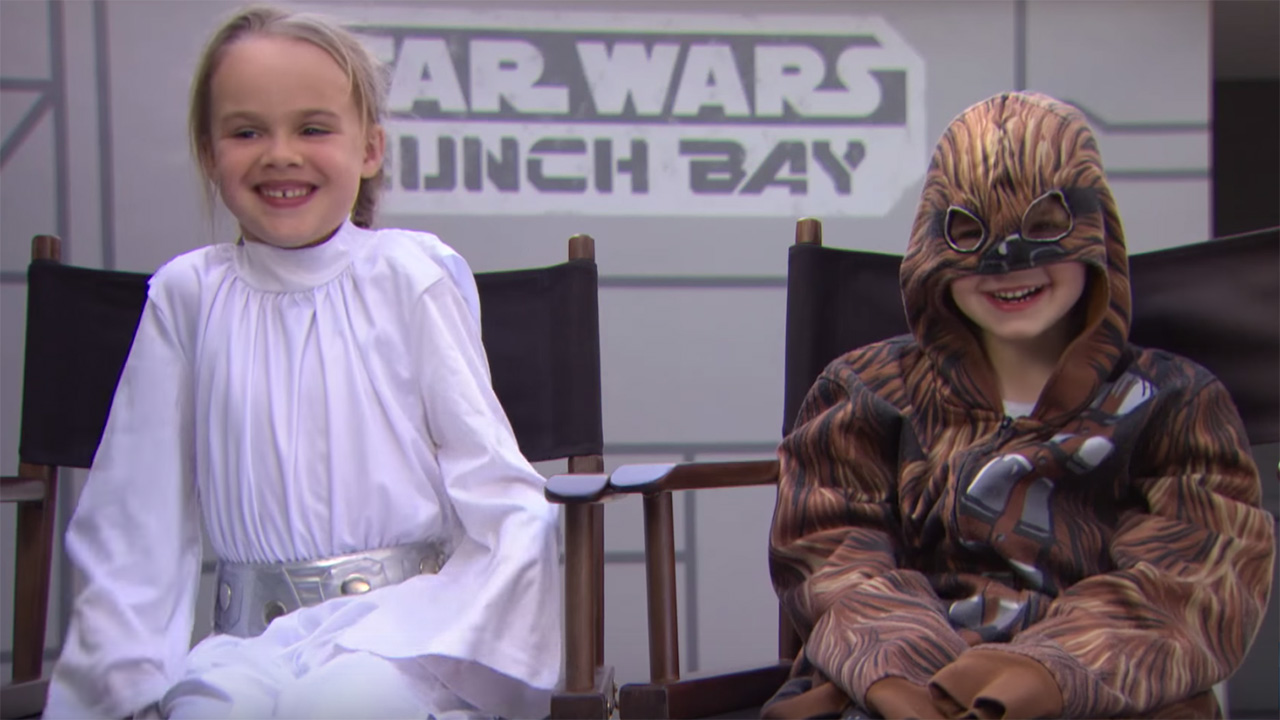 Chewbacca meets Kids at Hollywood Studios