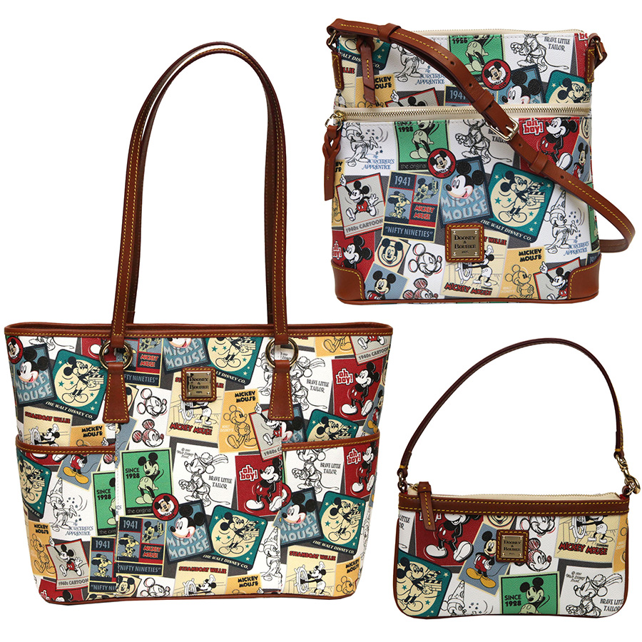 New 'Mickey Thru the Years' Dooney & Bourke Handbag