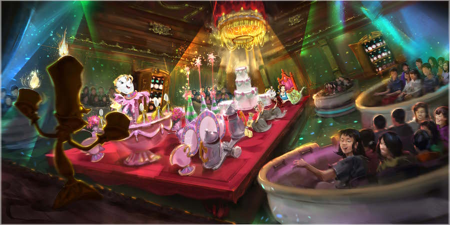 Tokyo Disneyland will Expand its Fantasyland to Include a New Area Inspired by the 'Beauty & The Beast' Film