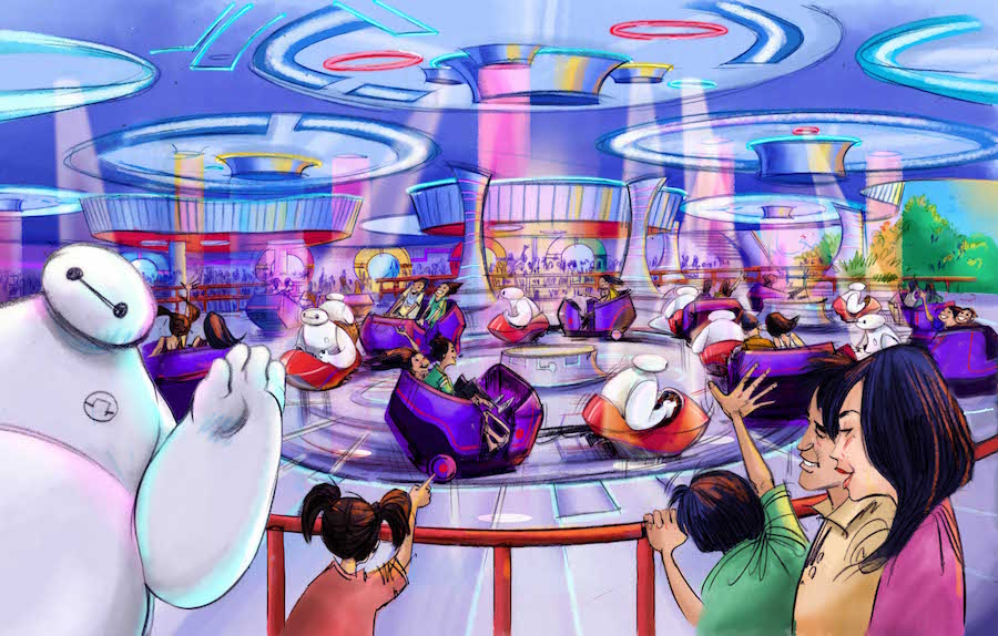 An Attraction Inspired by the film 'Big Hero 6' is Coming to Tomorrowland at Tokyo Disneyland