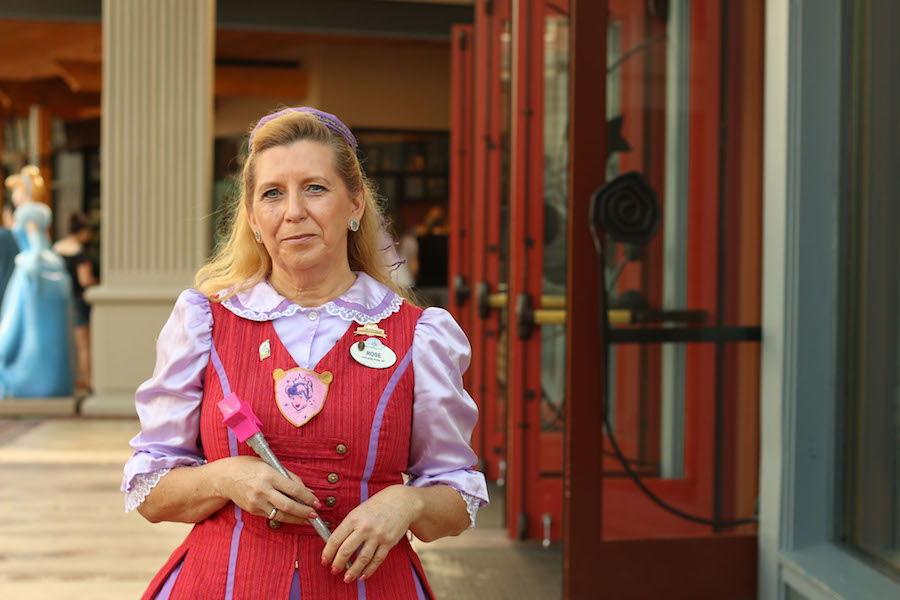 Rose Curry Celebrates 10 Magical Years at Bibbidi Bobbidi Boutique in Disney Springs at Walt Disney World Resort