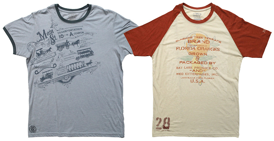 T-shirts from 28th and Main Coming to Disney Parks Online Store in Spring 2016
