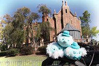 The Hitchhiking Ghosts Tsum Tsums at The Haunted Mansion at Magic Kingdom Park at Walt Disney World Resort