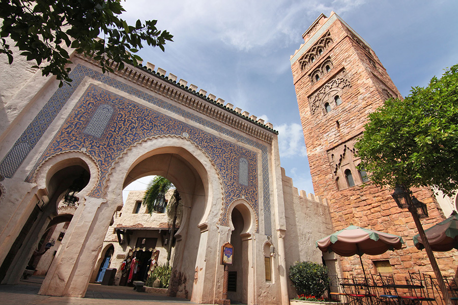 Entrance to Morocco at Epcot at Walt Disney World Resort