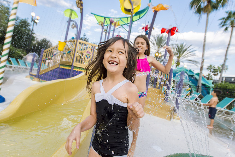 New Aquatic Play Area Opens at Disney's Port Orleans Resort - French Quarter