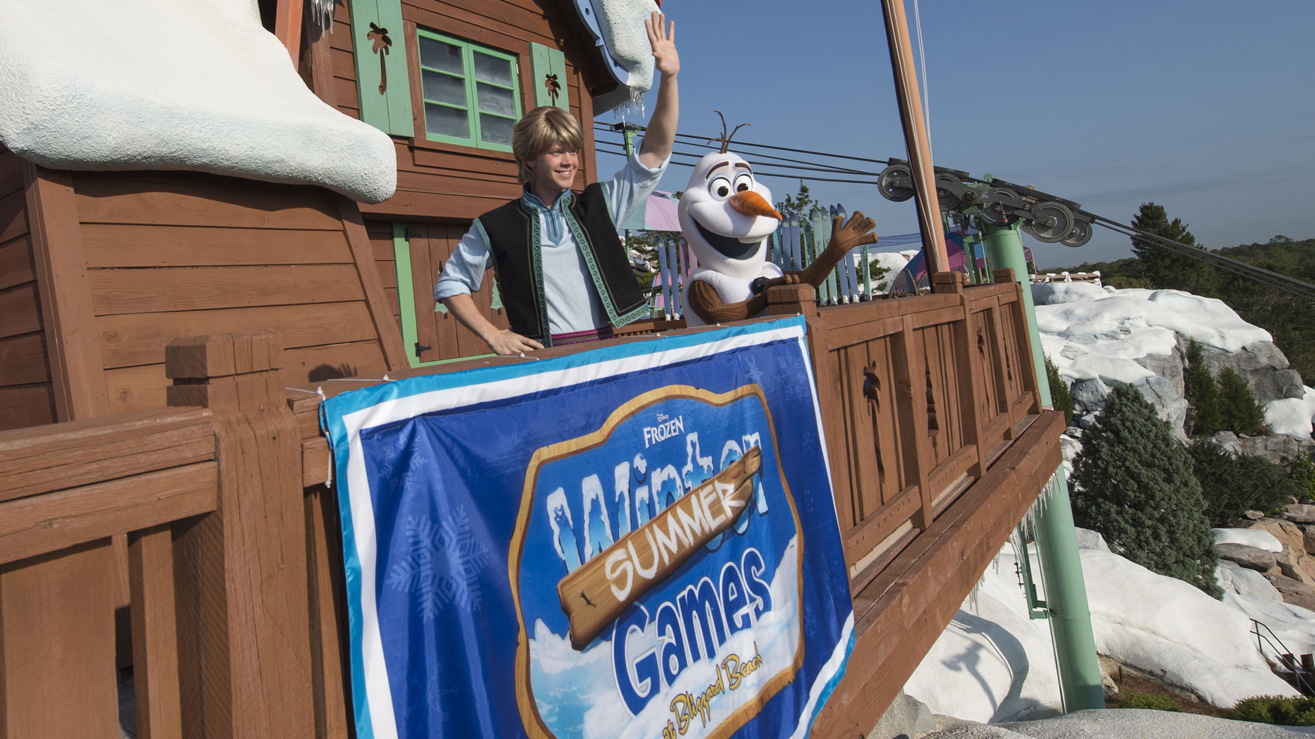 'Frozen' Games Begin Memorial Day Weekend at Disney's Blizzard Beach