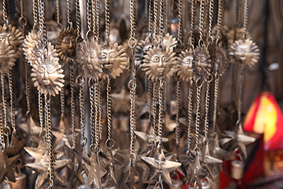 Chimes for sale in Morocco at Epcot at Walt Disney World Resort