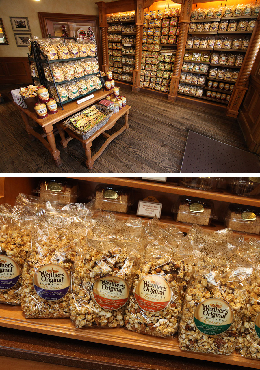 National Caramel Day Pre-Packed Popcorn at Karamell-Küche in Germany Pavilion at Epcot at Walt Disney World Resort
