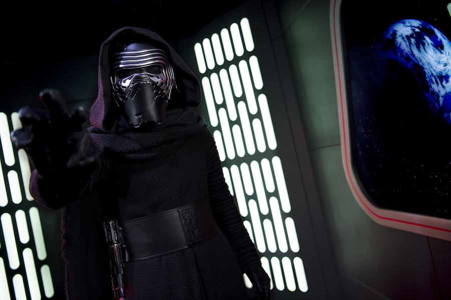 Meet Kylo Ren in the Star Wars Launch Bay at Disney's Hollywood Studios