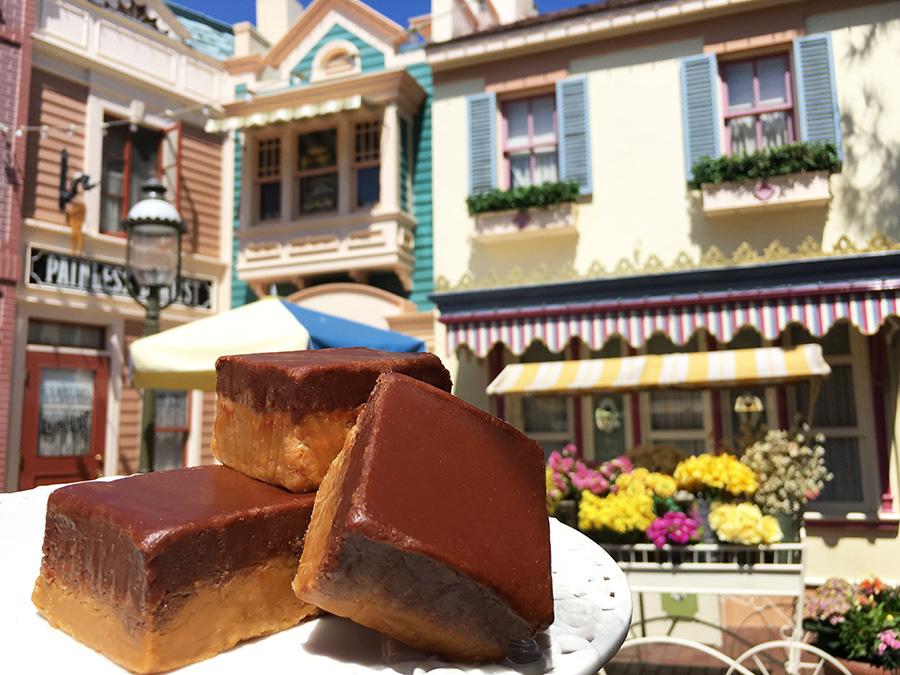 Peanut Butter Fudge Gourmet Treat for May at Disneyland Resort