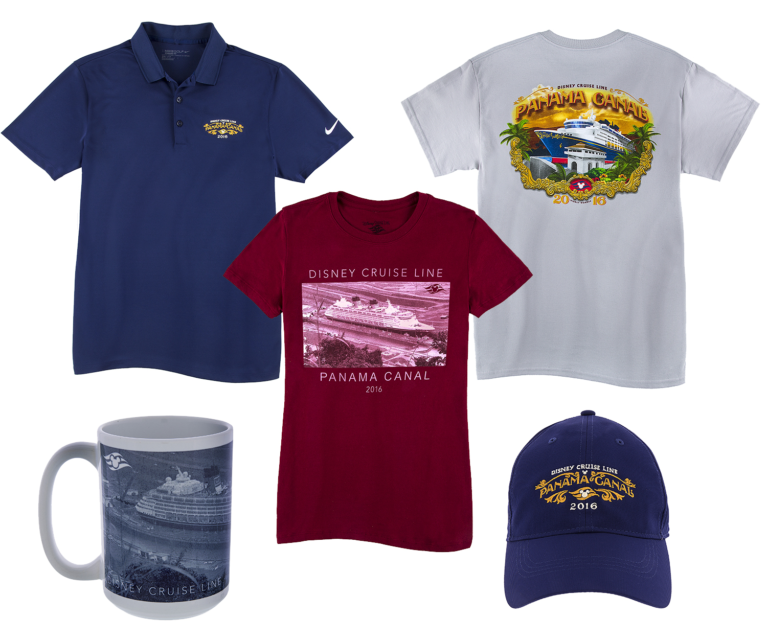 First Look at Disney Cruise Line Panama Canal Special Itinerary Merchandise