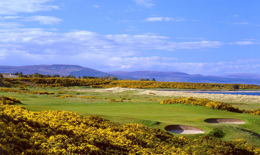 Golf Course at Royal Dornoch Port Adventure with Disney Cruise Line