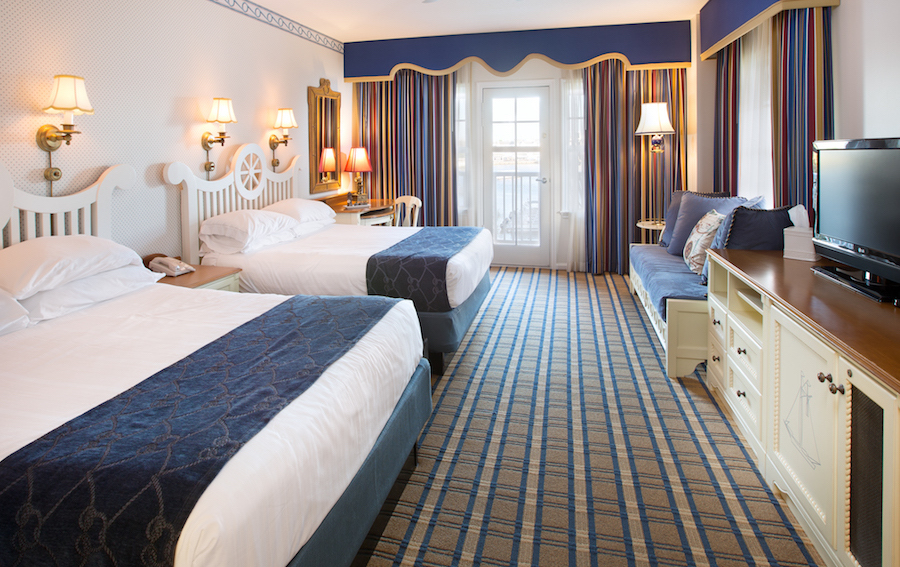 Room 4163 at Disney's Yacht Club Resort at Walt Disney World Resort