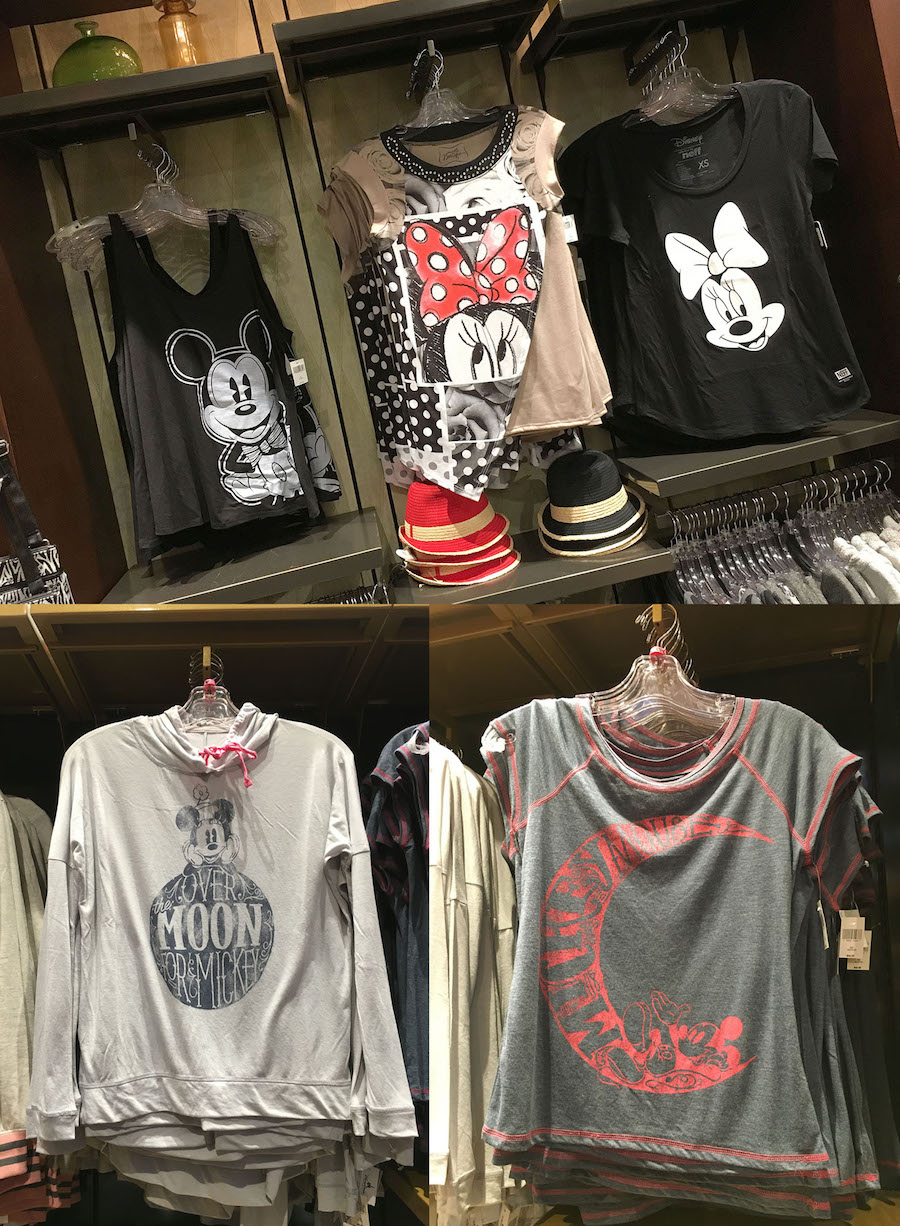 Mickey and Minnie Mouse Apparel for Women at Disney Parks