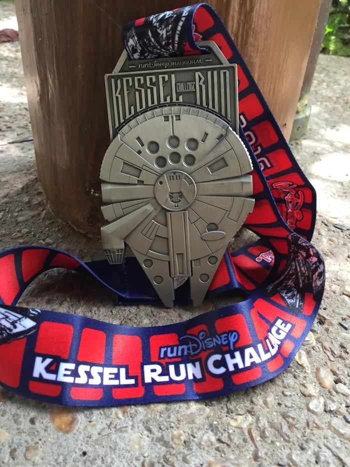 runDisney Kessel Run Challenge Medal