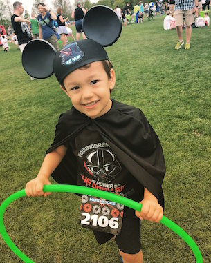 Young Apprentices Were Ready to Conquer the runDisney Kids Races Presented by GoGo squeeZ
