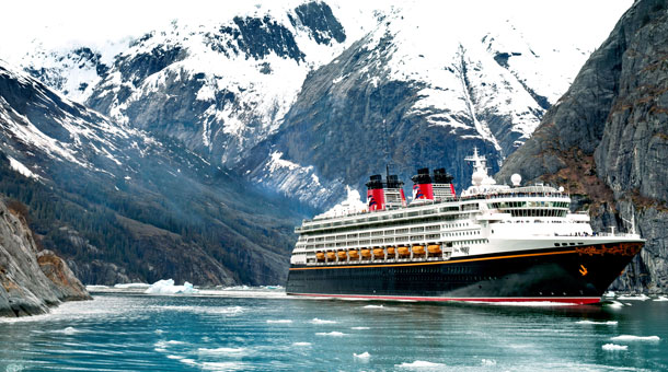Disney Cruise Line Unveils New Itineraries For Summer - Cruise ship route vancouver to alaska