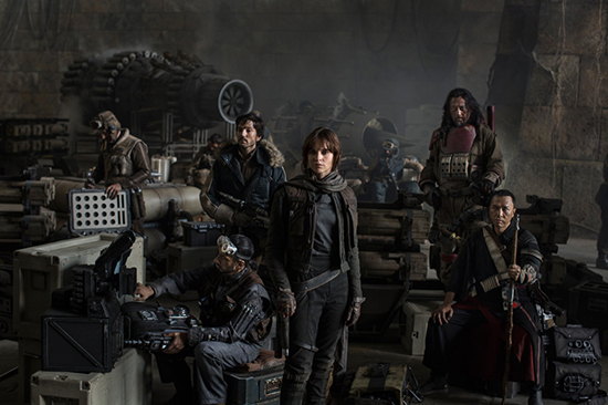 Cast of Rogue One: A Star Wars Story