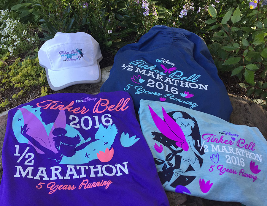Tinker Bell Half Marathon Sweatshirts and Hat