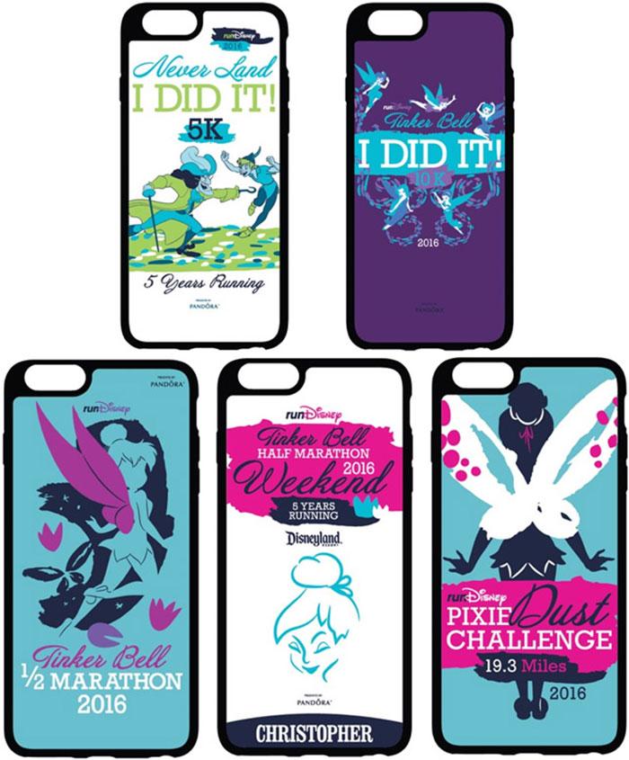 Tinker Bell Half Marathon Phone Cases