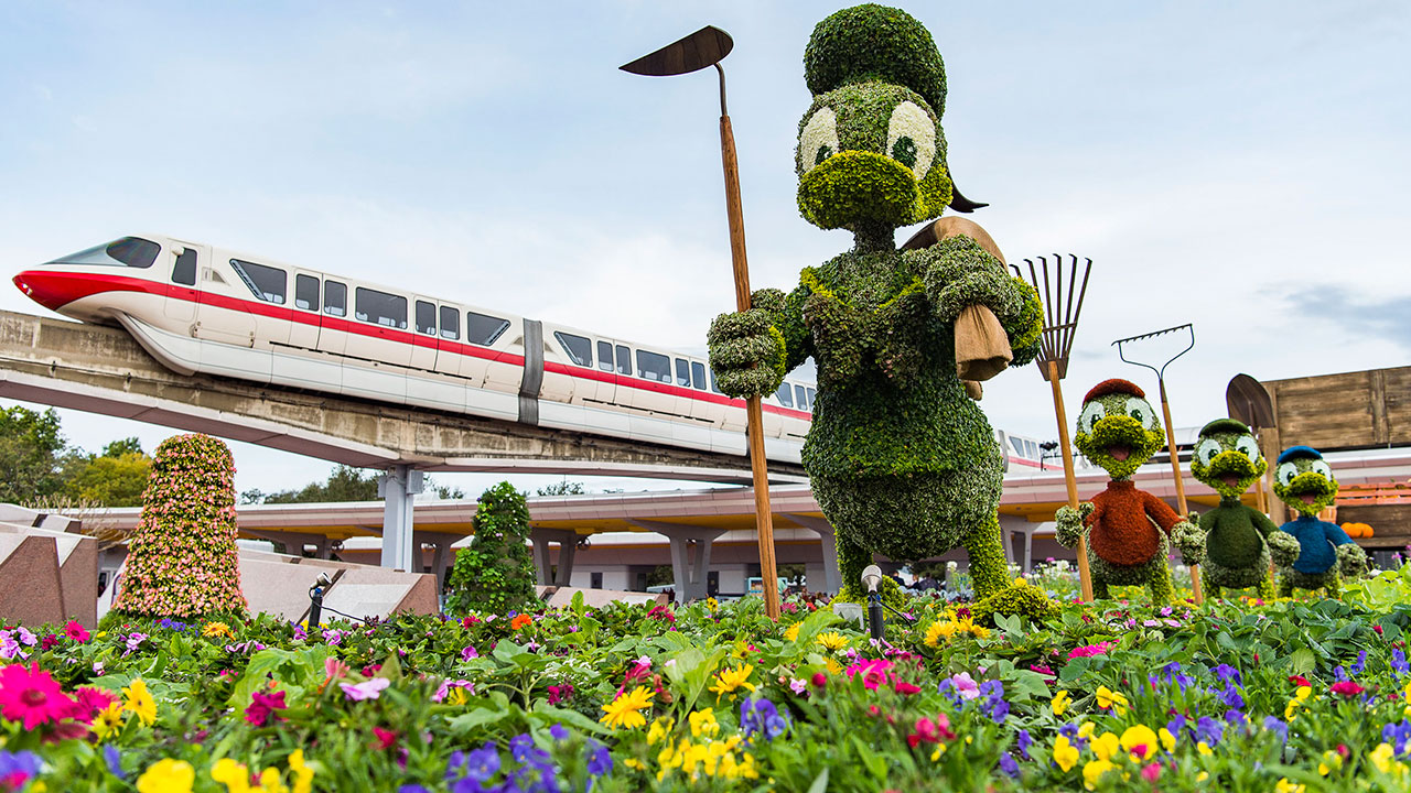 Epcot International Flower Garden Festival DIY Flower and