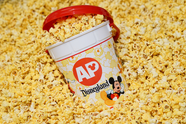 Special 64oz Popcorn Bucket for Disneyland Annual Passholders