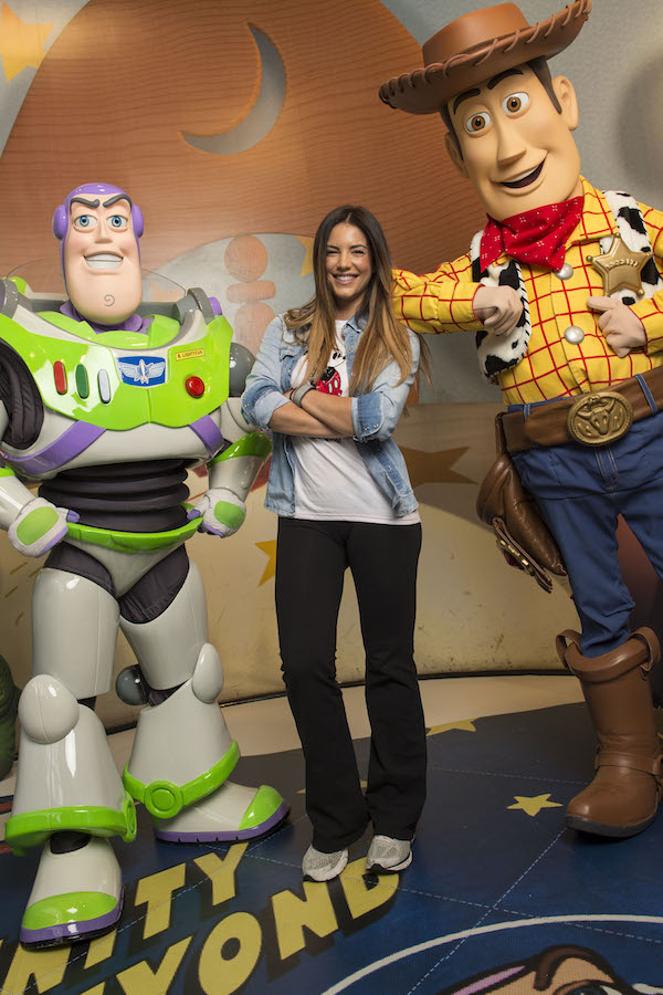 actress and host Gaby Espino  Visit Walt Disney World Resort