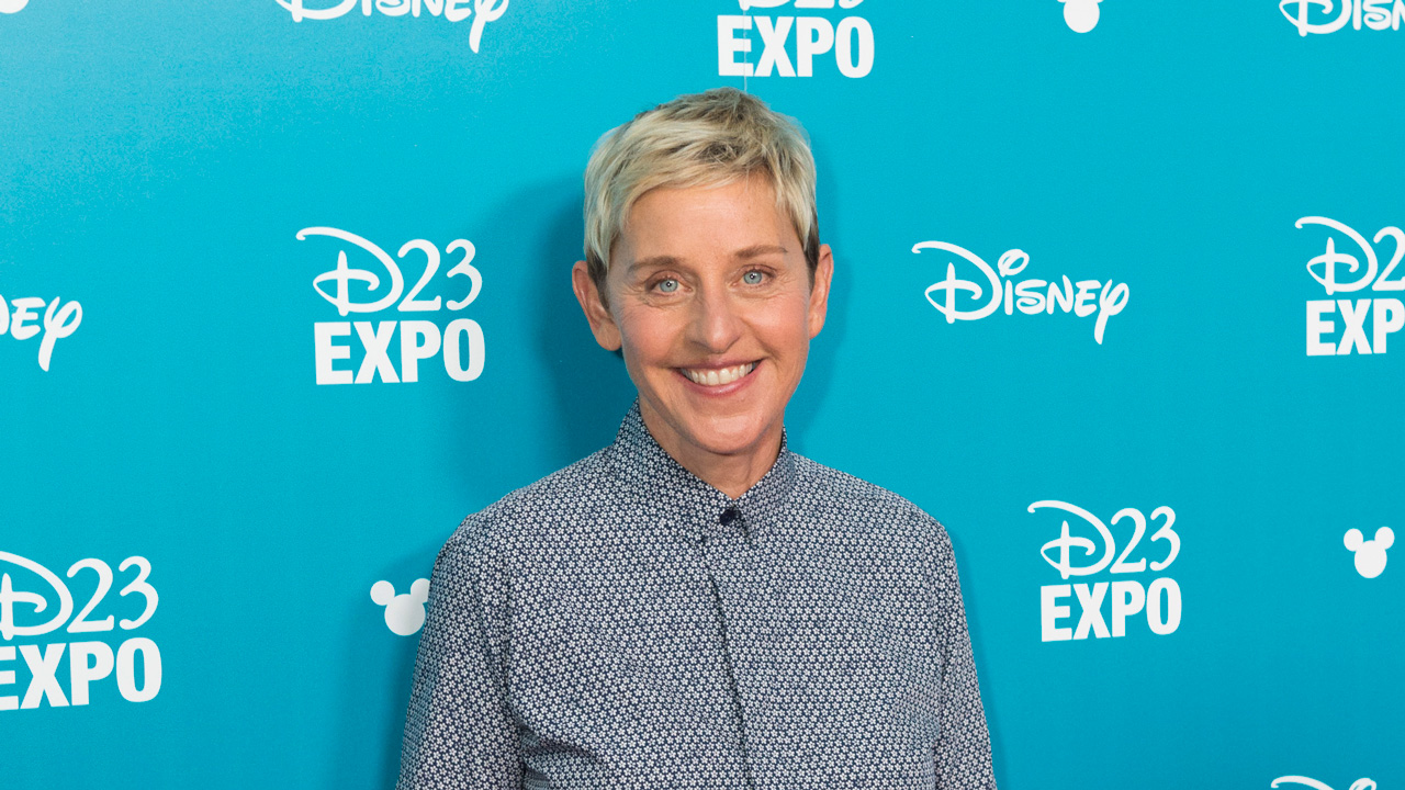 Ellen DeGeneres at D23 EXPO