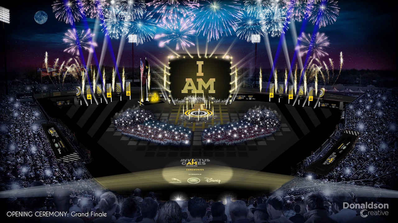 Invictus Games Orlando 2016 Opening Ceremony Grand Finale