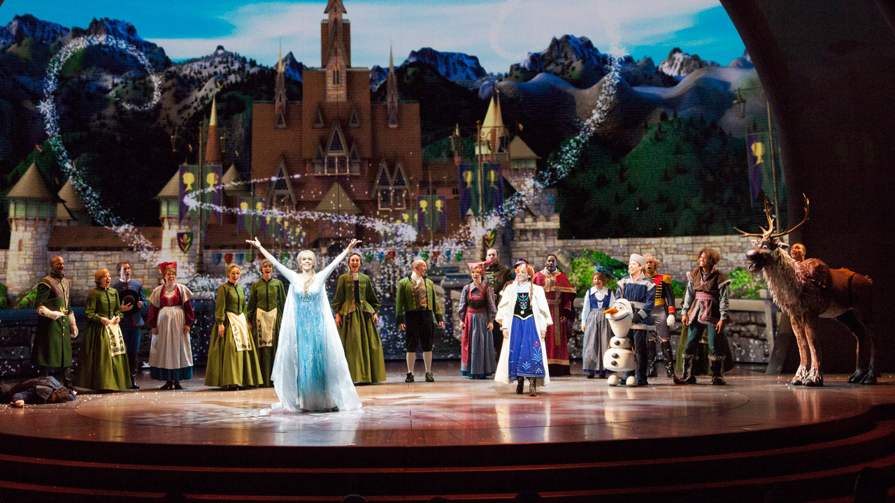 Frozen Live At The Hyperion Now Open At Disney