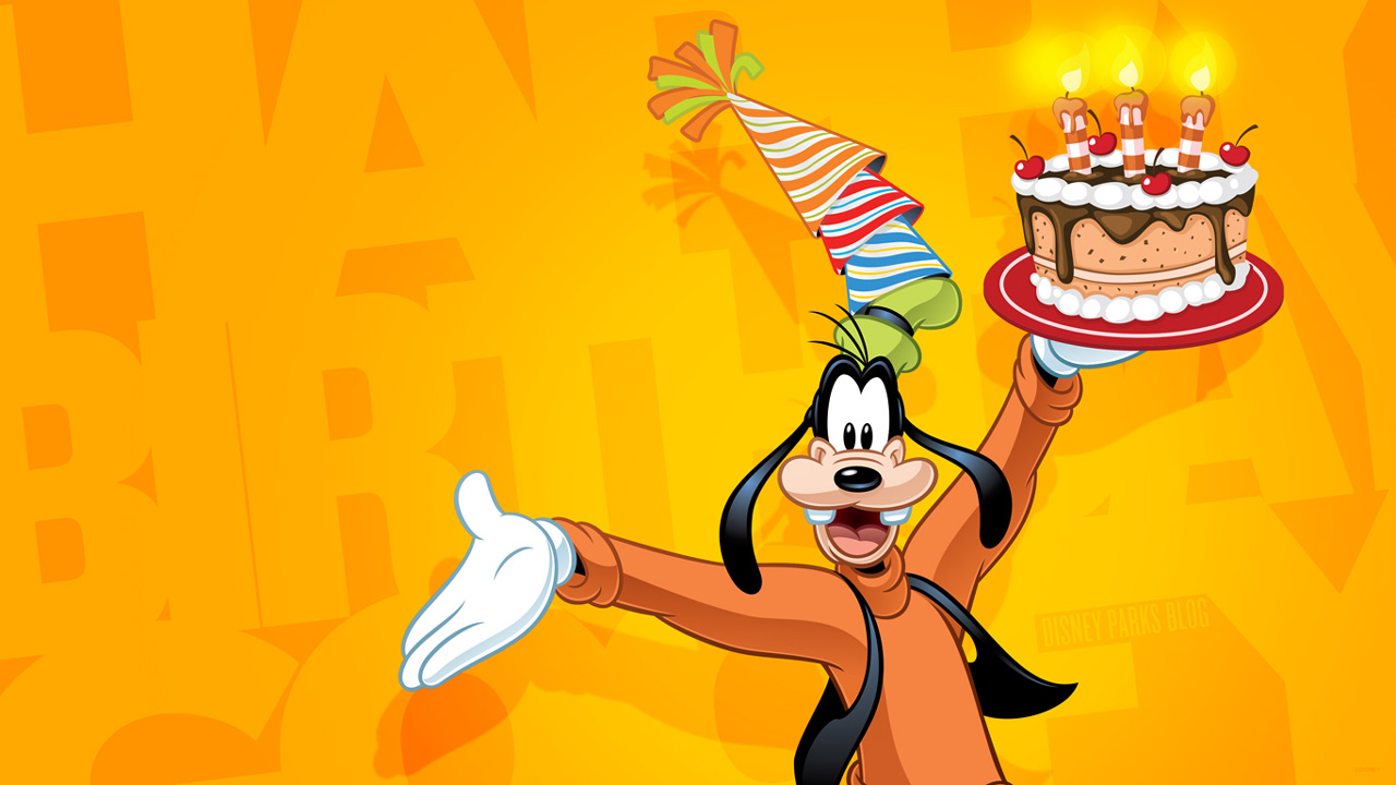 Goofy's 84th Anniversary Wallpaper