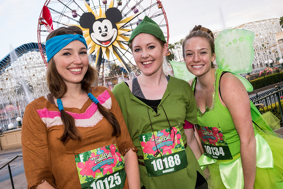Runners Flew to runDisney Tinker Bell Half Marathon Finish Line in Style