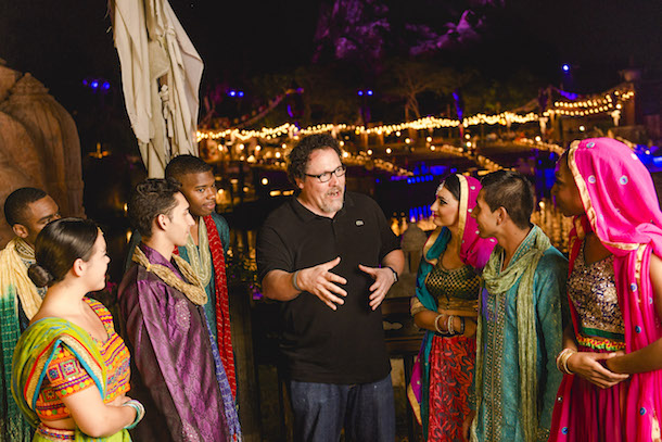 Filmmaker and Actor Jon Favreau, Who Directed Disney's 'The Jungle Book,' Attended the Show Over the Weekend and Took Time to Congratulate the Show's Cast on the Opening