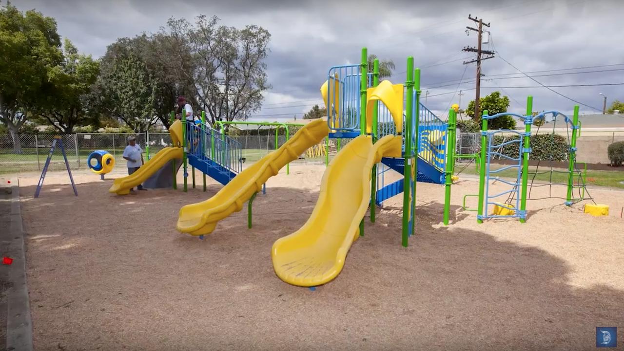 Volunteers Build Seventh Disney-Sponsored KaBOOM! Playground in Anaheim