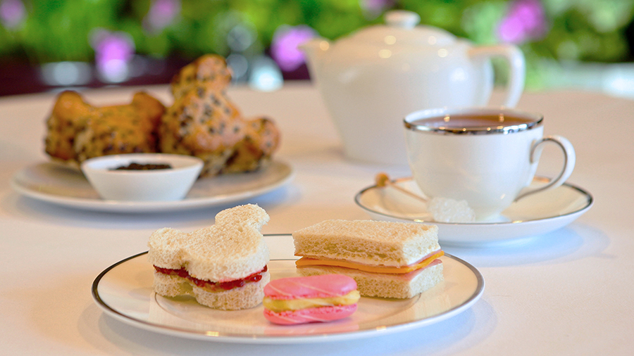 Classic Afternoon Tea at Disneyland Hotel