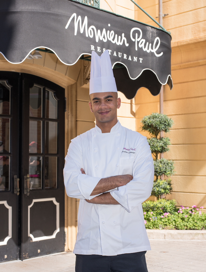 Chef Nicolas Lemoyne of Monsieur Paul in Epcot France Pavilion