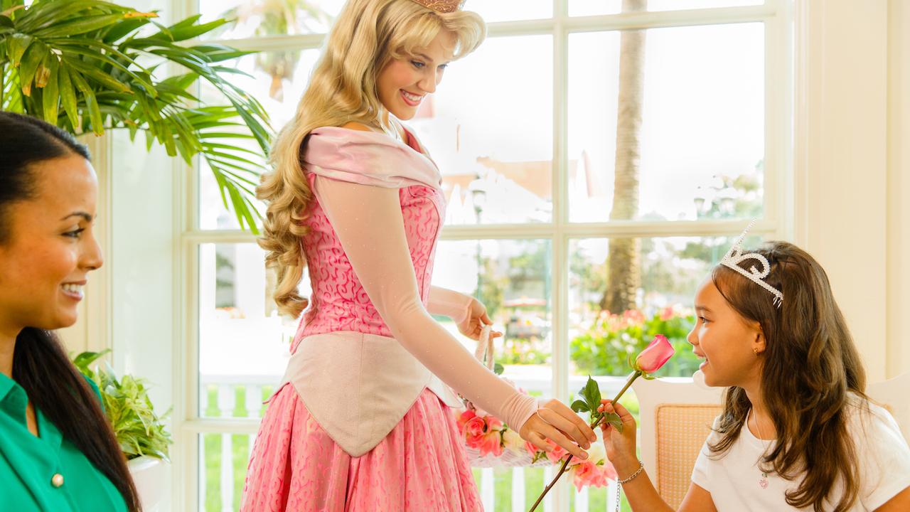 Afternoon Tea at Garden View Tea Room in Disney's Grand Floridian Resort & Spa