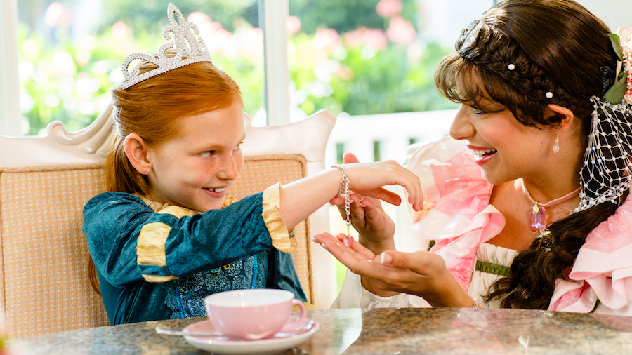 Disney's Perfectly Princess Tea at Garden View Tea Room in Disney's Grand Floridian Resort & Spa