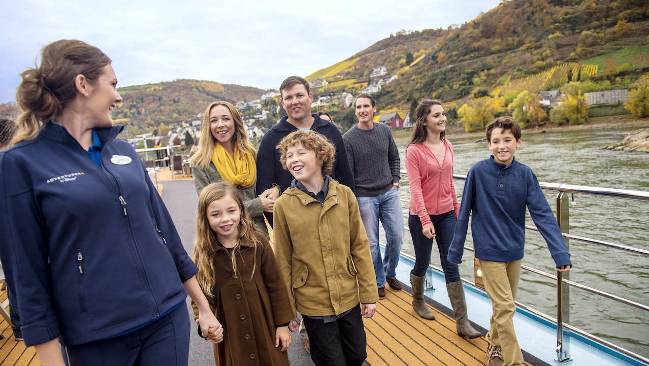 Sail along the Rhine River in Europe with Adventures by Disney