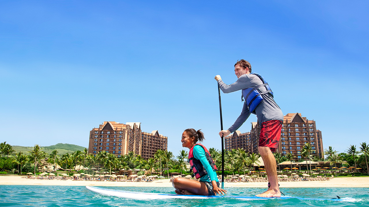 Honeymooners at Aulani, a Disney Resort and Spa